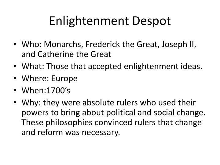 Enlightenment Despot
