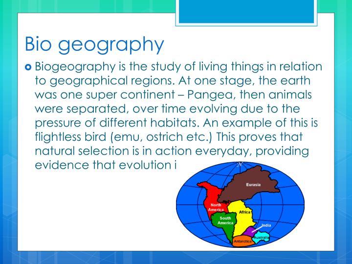 Bio geography