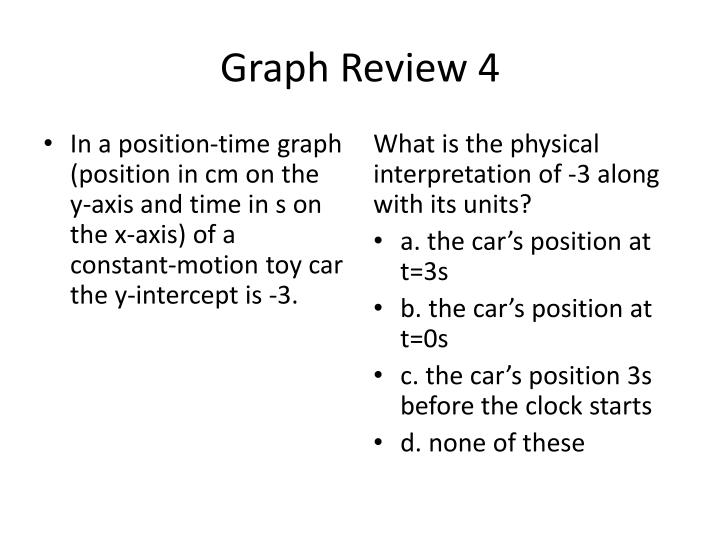 Graph Review 4