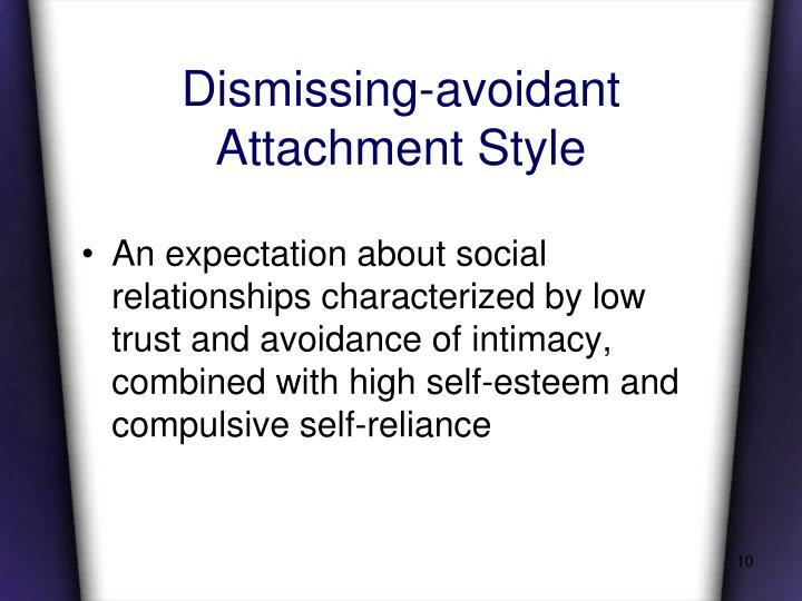 Dismissing-avoidant