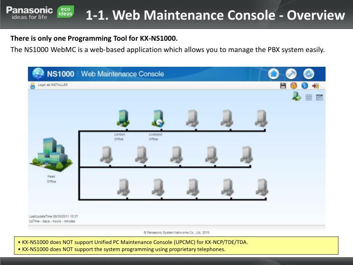 1-1. Web