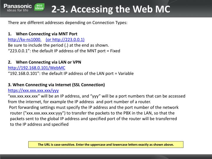 2-3. Accessing