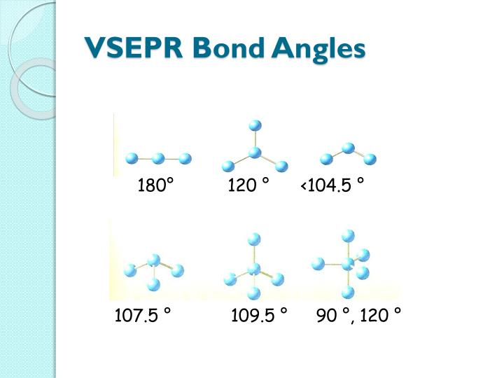 VSEPR Bond Angles