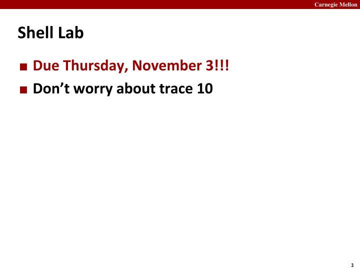 Shell Lab