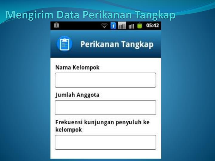 Mengirim Data Perikanan