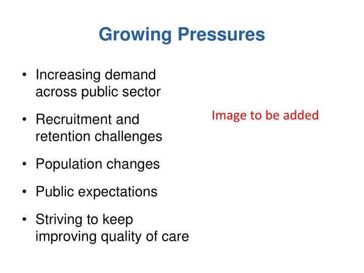 Increasing demand across public sector