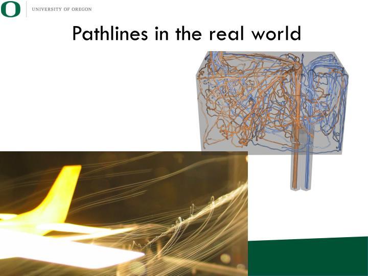 Pathlines