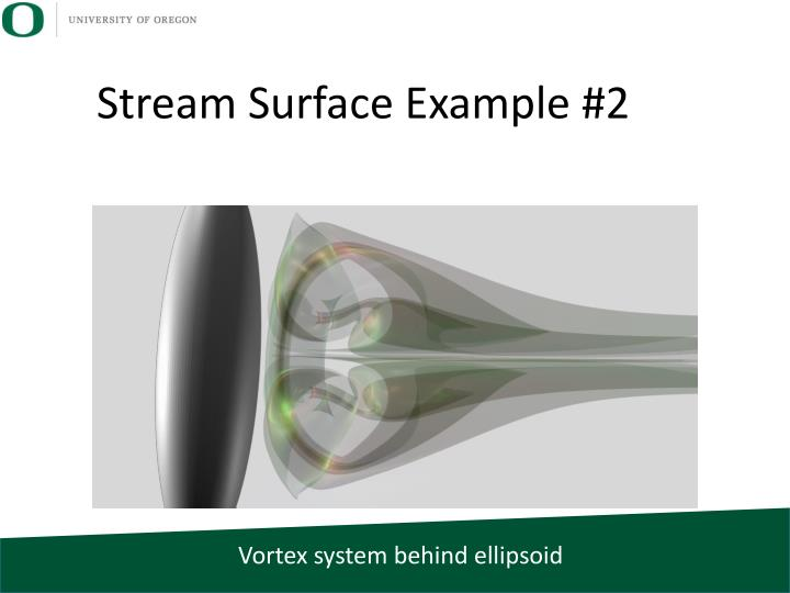 Stream Surface Example #2
