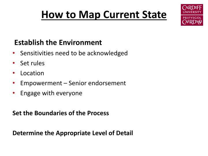 How to Map Current State