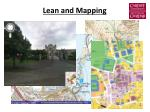 lean and mapping