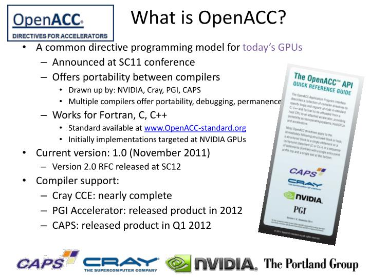 What is openacc
