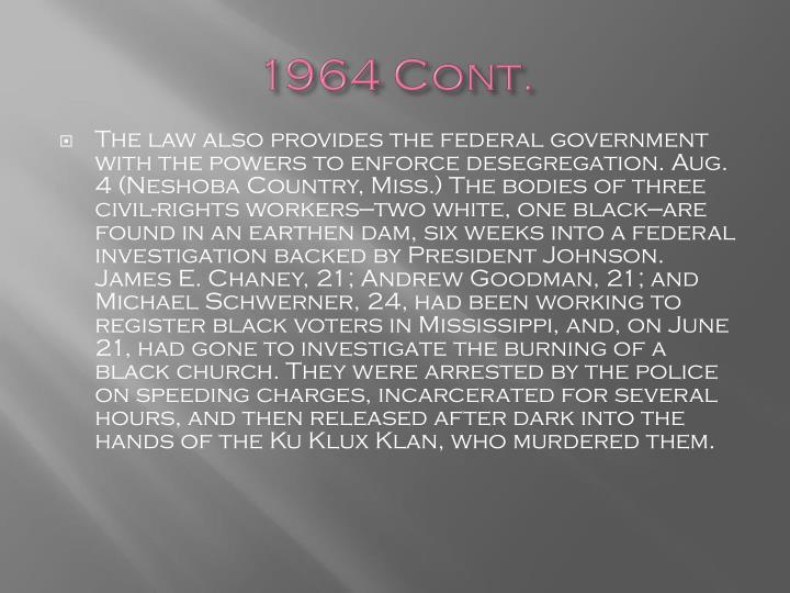 1964 Cont.