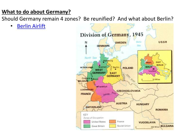 What to do about Germany?