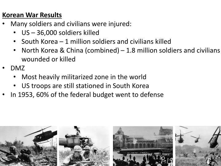 Korean War Results