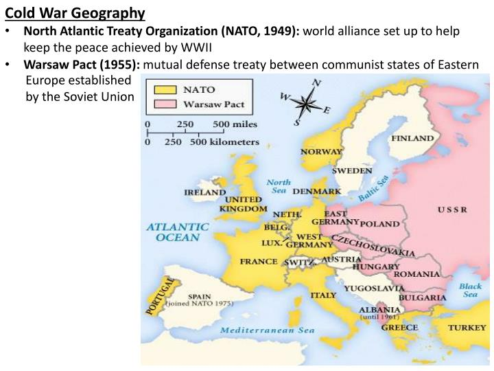 Cold War Geography