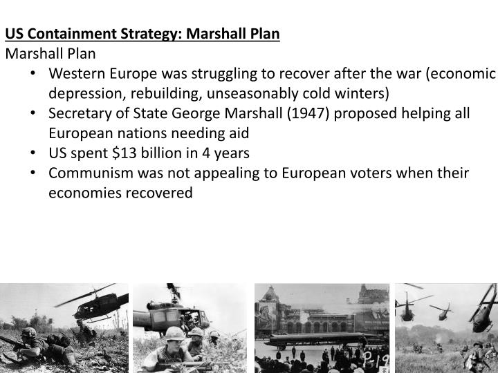 US Containment Strategy: Marshall Plan