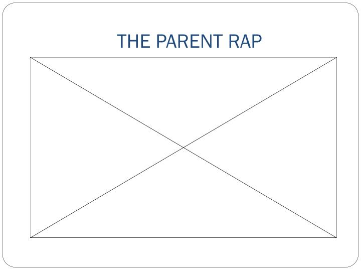THE PARENT RAP