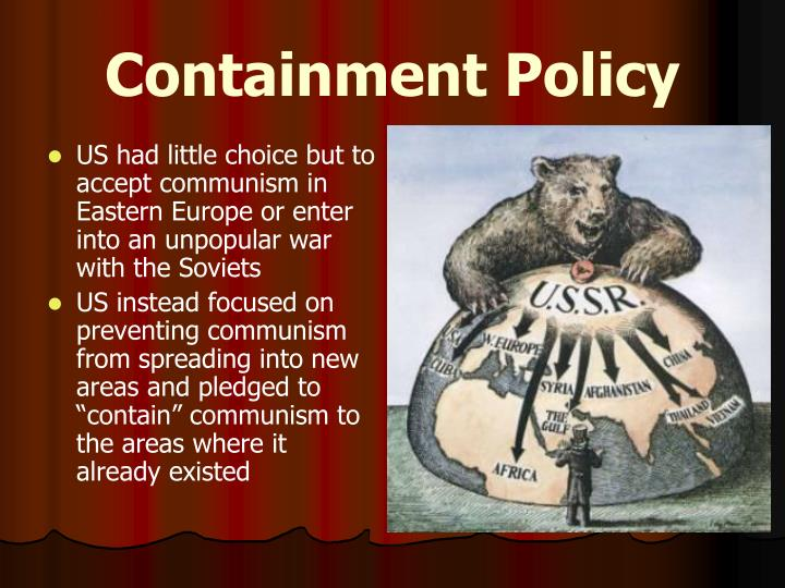 a history of the spread of communism during the cold war Historystategov 30 the basic united states strategy for fighting the cold war union and its communist allies whenever and wherever they.
