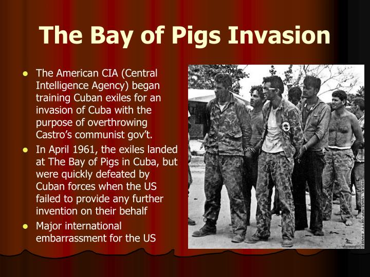 analyzing the failed invasion of cuba at the bay of pigs