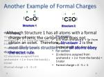 another example of formal charges