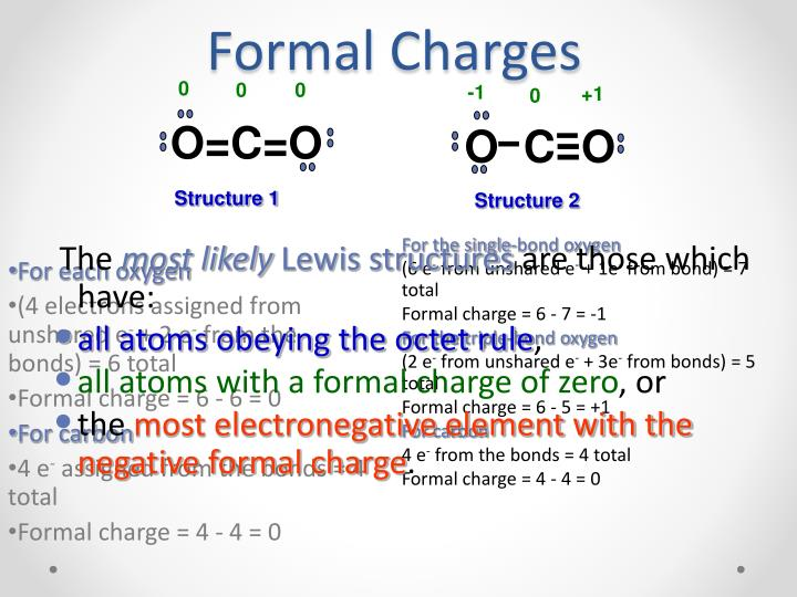how to find formal charge of an element