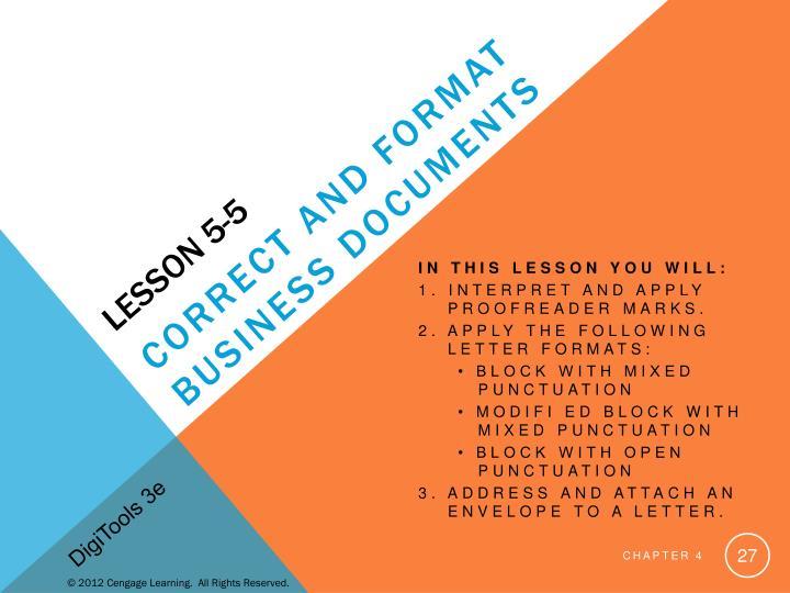 Lesson 5-5