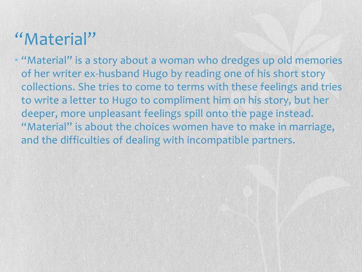 """""""Material"""""""