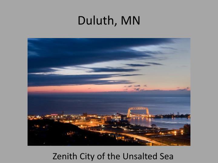 Duluth, MN