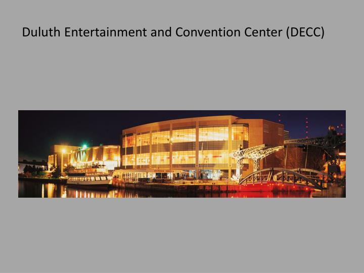 Duluth Entertainment and Convention Center (DECC)
