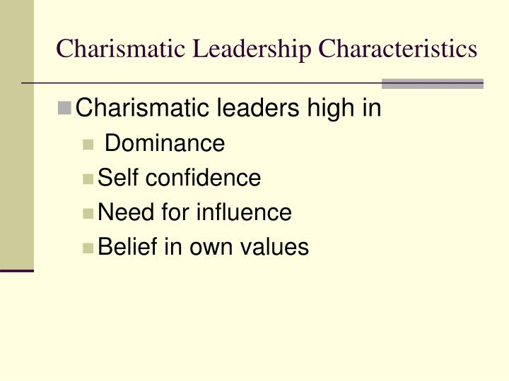 charismatic and transformational leadership traits Transactional, charismatic and transformational leadership:visionary leadership leadership and team management business management.