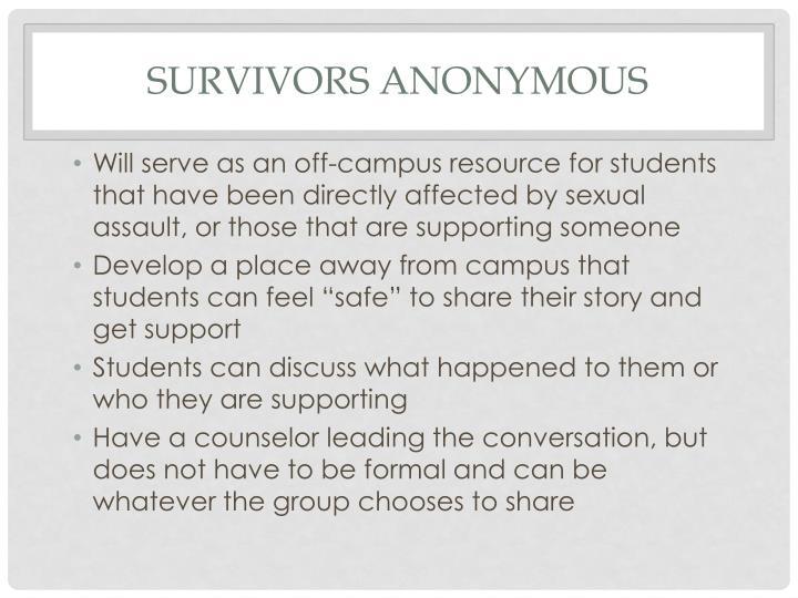 Survivors Anonymous