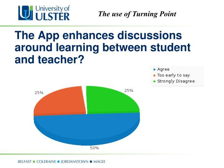 The App enhances