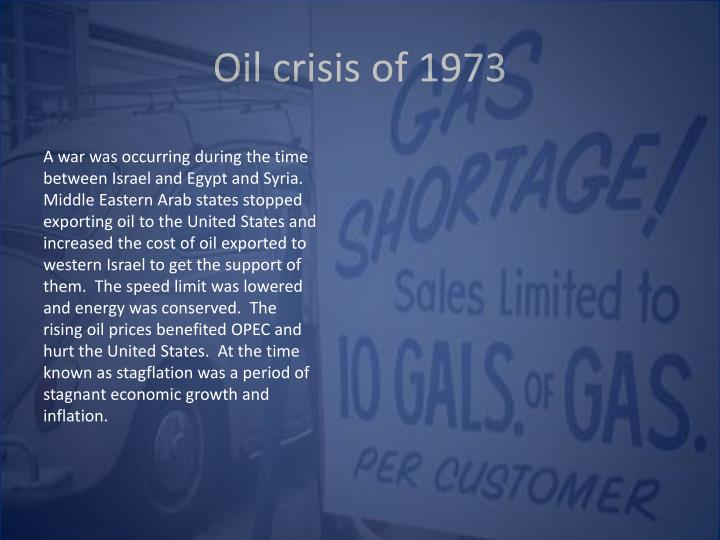 Oil crisis of 1973