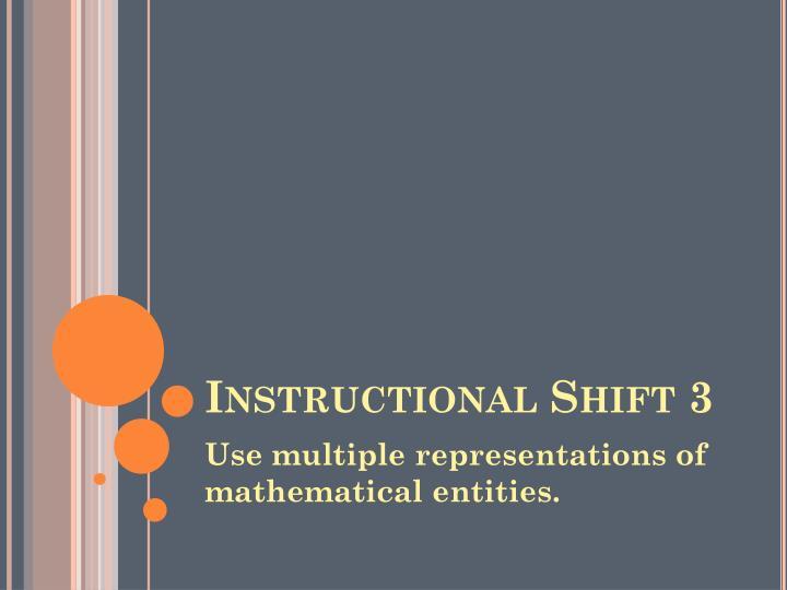 Instructional Shift 3