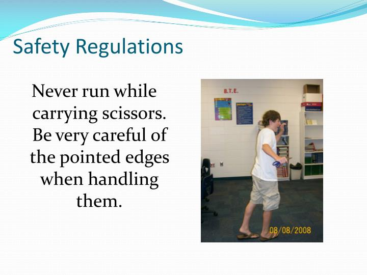 Safety Regulations