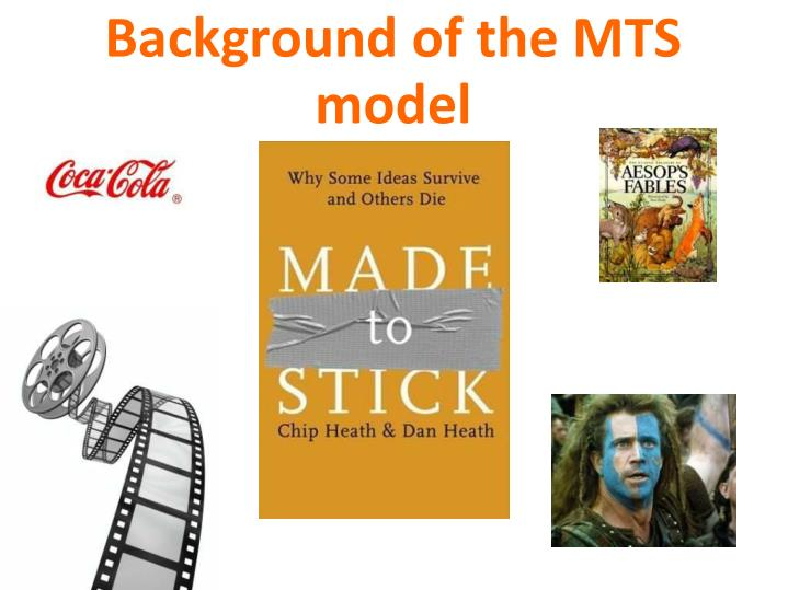 Background of the MTS model