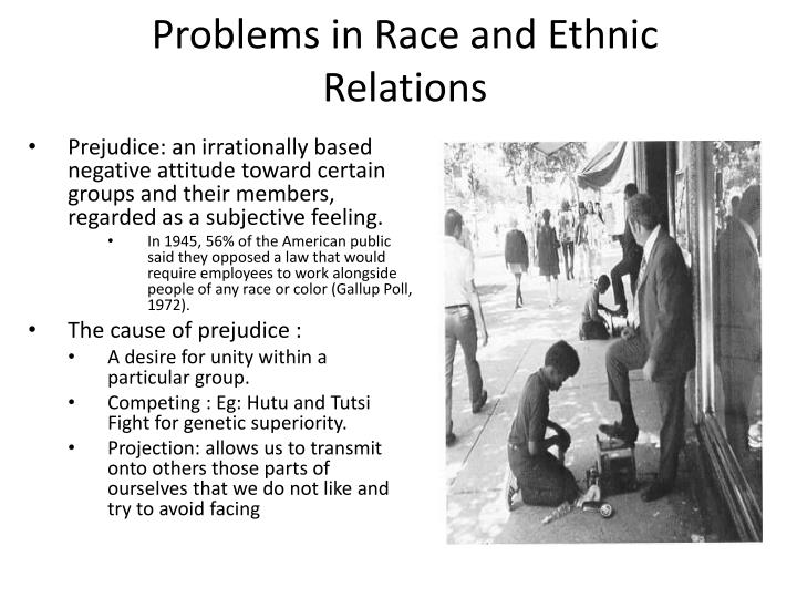 Problems in Race and Ethnic Relations