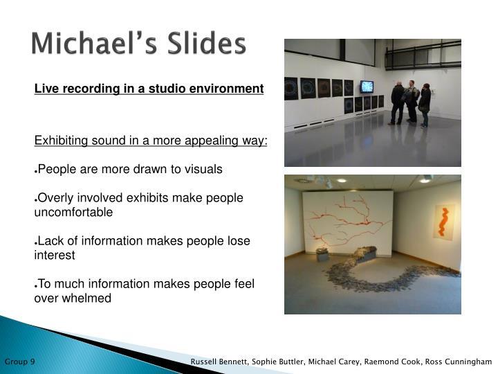 Michael's Slides
