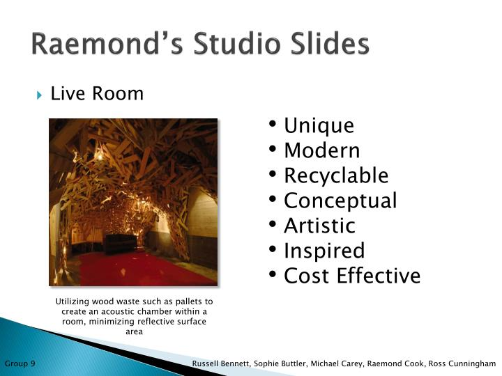 Raemond's Studio Slides