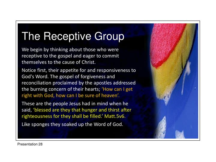 The Receptive Group