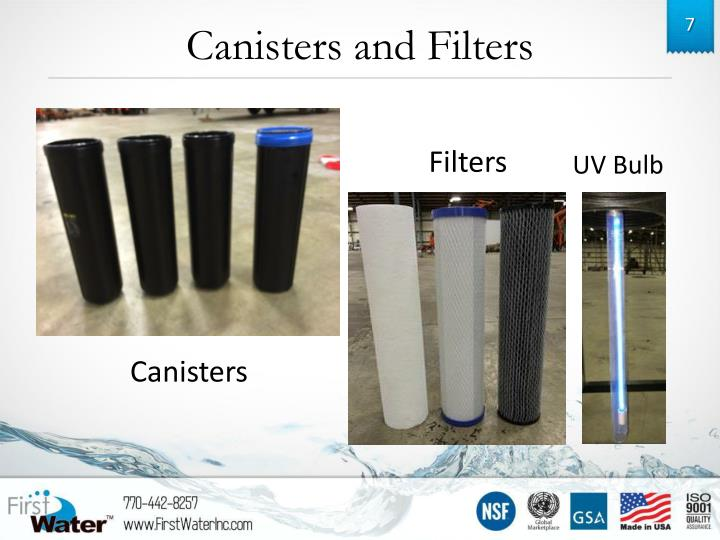 Canisters and Filters