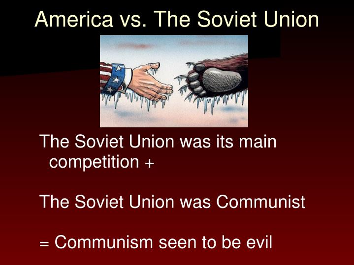 America vs. The Soviet Union