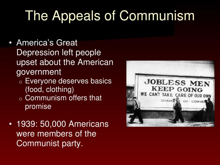 The Appeals of Communism