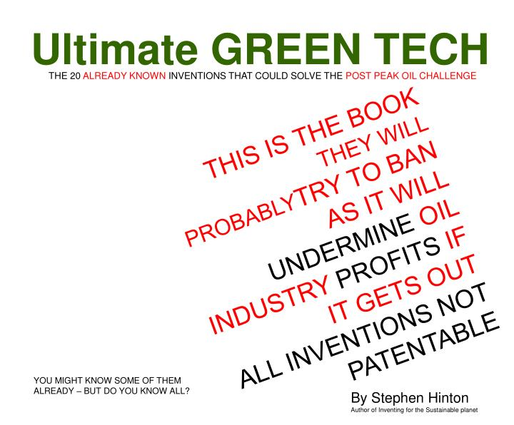Ultimate GREEN TECH