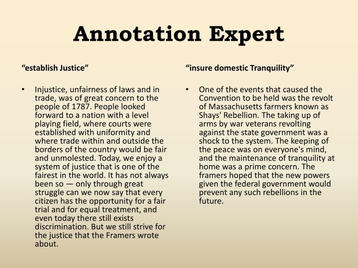Annotation Expert