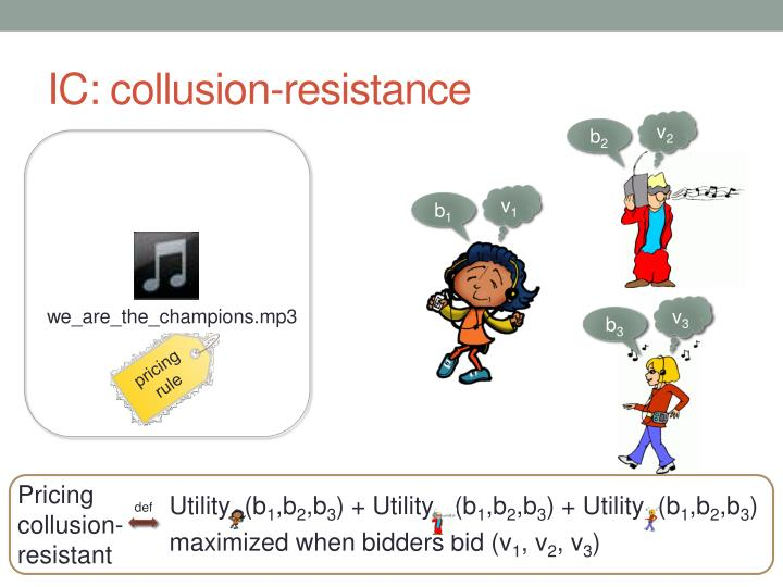 IC: collusion-resistance