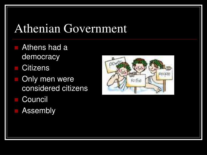 Athenian Government
