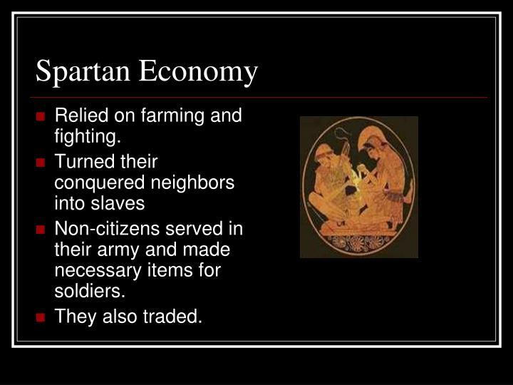 Spartan Economy