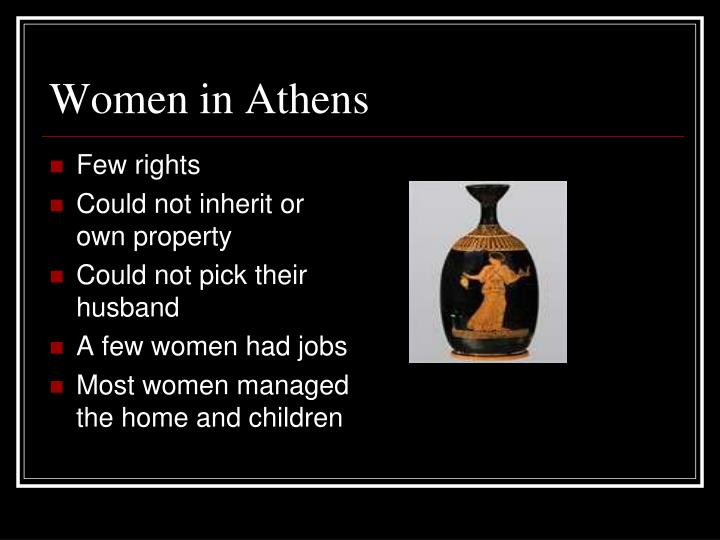 Women in Athens