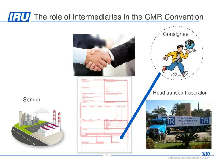 The role of intermediaries in the cmr convention1